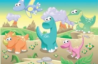 可愛的恐龍時代圖片