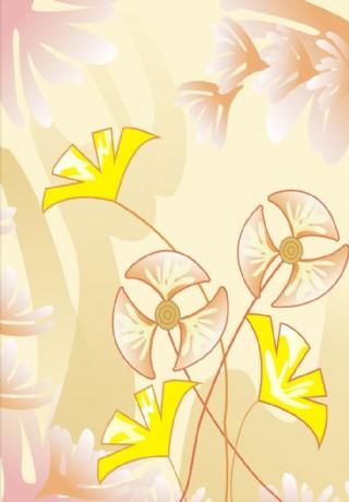 玻璃移门 欢乐花海图片