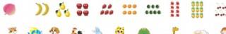 动物水果矢量图图片