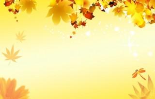 秋季海報圖片