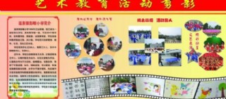 藝術教育活動剪影展板圖片