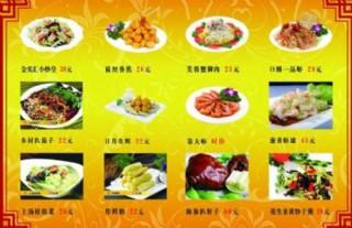 菜單展板 邊框圖片