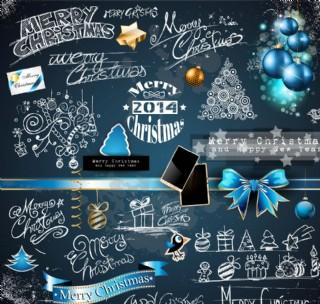 圣誕節裝飾素材圖片