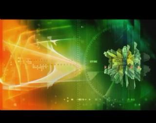 多彩光效背景视频素材