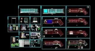 综合楼建筑施工图图片