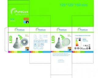 led燈包裝彩盒圖片