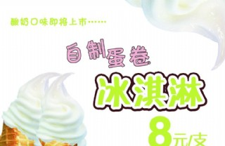 蛋卷冰淇淋海报?#35745;? style=