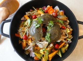 燜鍋蟹圖片