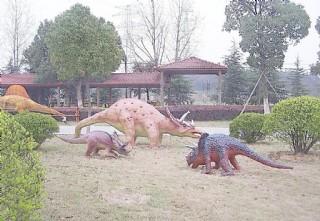 仿真恐龍昆蟲恐龍展主題公園圖片