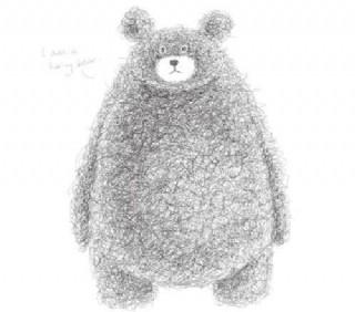 超级可爱的泰迪熊设计矢量图05