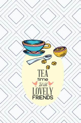 下午茶插圖圖片