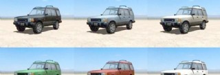 TRAFFIC – Low Poly Pretextured Vehicles 交通工具低模系列 路虎Land Rover SUV LD
